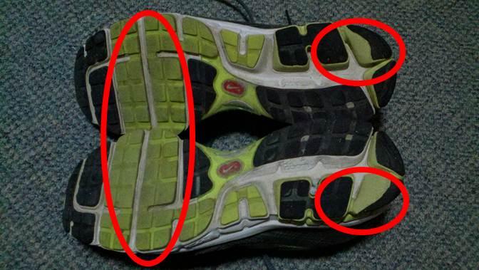 Pronation Shoe Wear