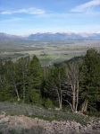 Sawtooth Valley  overlook