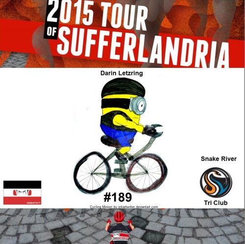ToS 2015 Race Number 189 minion